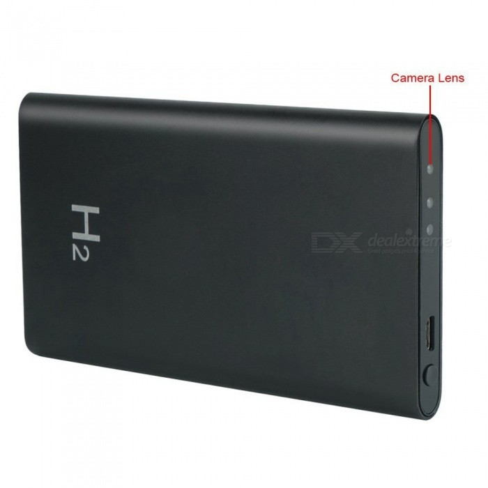8GB HD 1080P Portable Power Bank Camera Video Recorder DV Camcorder