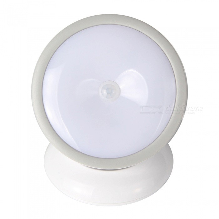 FandyFire Creative 360° USB Charging Human Sensing Night Light - White