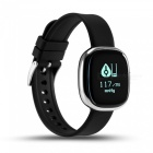 Eastor P2 Blood Pressure Heart Rate Monitor Smart Watch - Silver