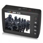 Portable Mini Video Upgrade Engel Eyes AV Ausgang Auto DVR - Schwarz