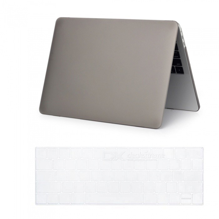 Dayspirit Matte Case + Keyboard Cover for MacBook Pro 15.4 inch 2016Netbook&amp;Laptop Cases<br>Form  ColorGreyQuantity1 DX.PCM.Model.AttributeModel.UnitShade Of ColorGrayMaterialPCCompatible BrandOthers,Macbook Pro 15.4 InchCompatible SizeOthers,15.4 InchPacking List1 x Hard shell (top + bottom)1 x Keyboard cover<br>