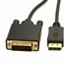 CY DisplayPort DP Male Source till DVI Male Single Link Sink Video Cable