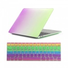 Dayspirit Rainbow Case + Keyboard Cover for MacBook Pro 13.3 inch 2016
