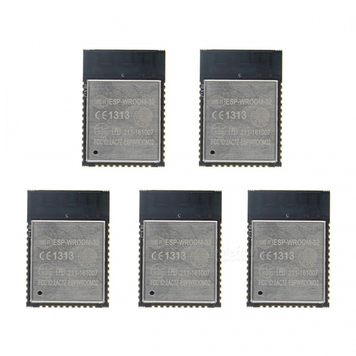 Geekworm ESP32 ESP-WROOM-32 Wi-Fi + Bluetooth Dual CPU Modules (5PCS)