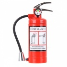Creative Funny Extinguisher Windproof Butane Lighter w / LED Light, cadeau parfait pour les amis - Rouge