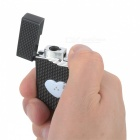 Luminous Windproof Lighter (Dolphin / Heart Pattern, Random Sent)