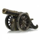 Multifunction Ancient Cannon Gun Style Butane Gas Lighter - Bronze
