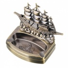 Multifunctional Creative Smooth Sailing Boat Style Lighter - Bronze