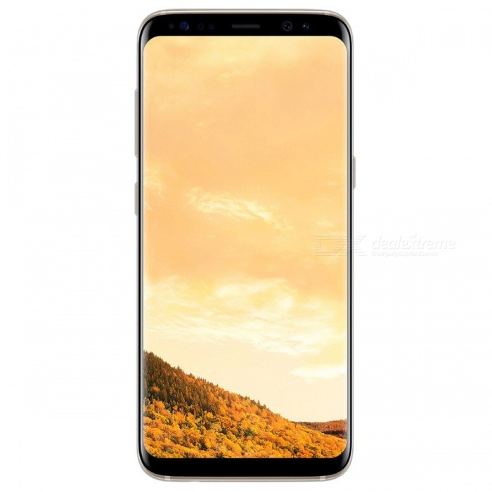 "Samsung S8+ Single SIM 6.2"" Phone w/ 4 + 64GB - Golden (KR Version)"