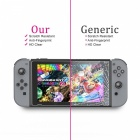GameWill Tempered Glass Screen Protectors for Nintendo Switch (2 PCS)