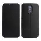 OCUBE PU Leather Flip-open Case for Ulefone Gemini Mobile Phone -Black