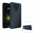 Protective PC + TPU Back Case w/ Card Slots for LG G6 - Navy