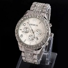 Fashion Luxury Crystal Quartz Metal Women's Watch