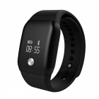 Eastor Blood Oxygen Heart Rate Monitor Smart Band - Black