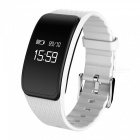 Eastor A59 Waterproof Blood Pressure Heart Rate Smart Band - White