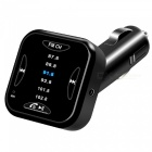 A01 Chargeur de voiture Bluetooth Music Player w / FM Transmitter
