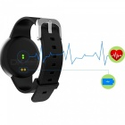 Eastor T90 Waterproof Blood Pressure Heart Rate Smart Watch - Black