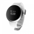 Eastor T90 Waterproof Blood Pressure Heart Rate Smart Watch - White