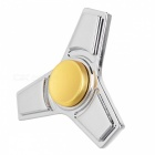 BLCR Triangle Shaped Fidget Toy EDC Finger Spinner for Autism - Silver