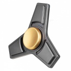 BLCR Triangle Shaped Toy EDC Finger Spinner for Autism - Dark Grey