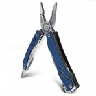 Folding Outdoor Camping Lightweight Multifunction Pliers - Blue