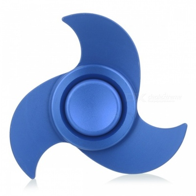 BLCR Tri-Spinner Fidget Toy EDC Hand Spinner for Autism - Blue