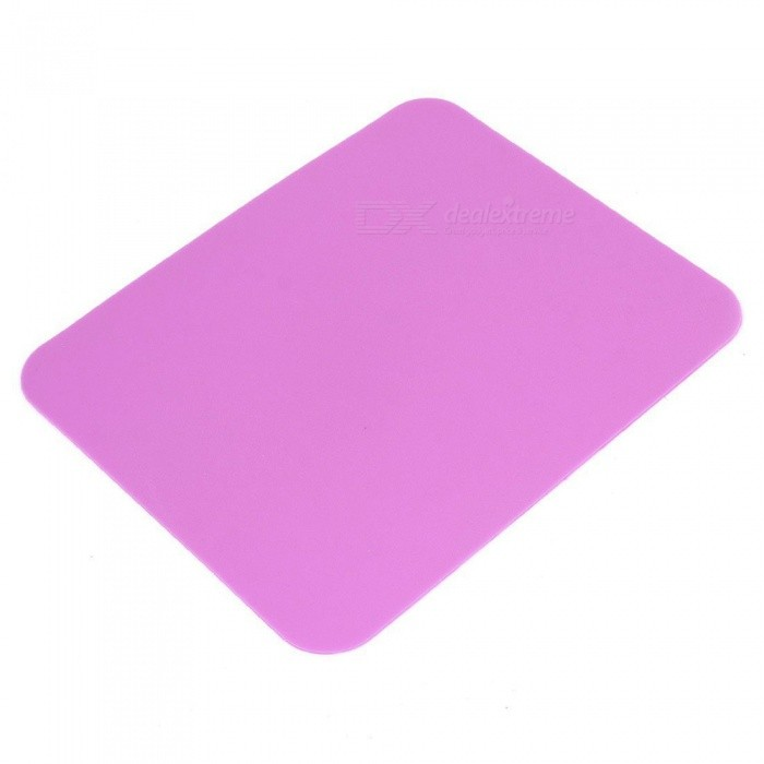 Soft Silicone Notebook Computer Gaming Mouse Mat, 17.5x21.5cm, Fuchsia