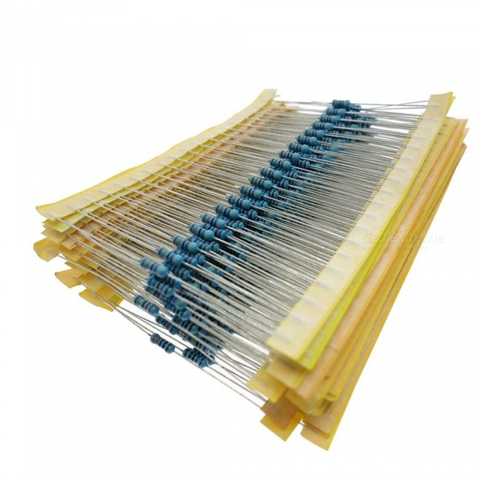 1/2 Watt 3W 3.3K Ohm 1% Metal Film Resistors (100 PCS)