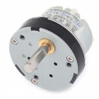 50RPM Output Speed Reducing 5mm Shaft Dia Gearbox Geared Motor (DC12V)