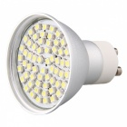2.5W GU10 3528 SMD 60 LED Blanc froid Home Spotlight Ampoule Lampe 7000K 250lm