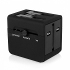BSTUO All-in-One Universal -liitäntäadapteri, jossa on 2 USB-porttia