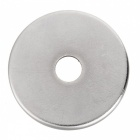 JEDX Strong Round Hole NdFeB Magnets - Silver (2 PCS / 25 x 3mm)