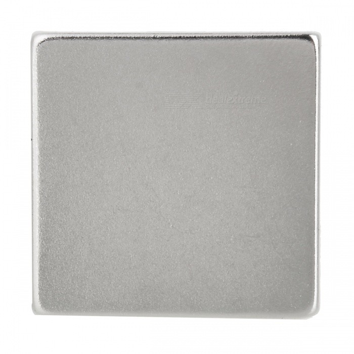 JEDX 30 x 30 x 4mm Strong Rectangle Shaped NdFeB Magnet - Silver