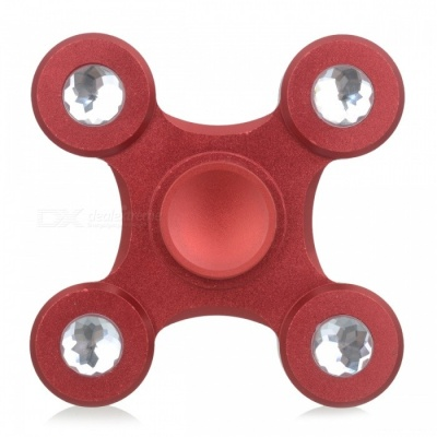 BLCR Drone Style Fidget Toy EDC Hand Spinner for Autism / ADHD - Red