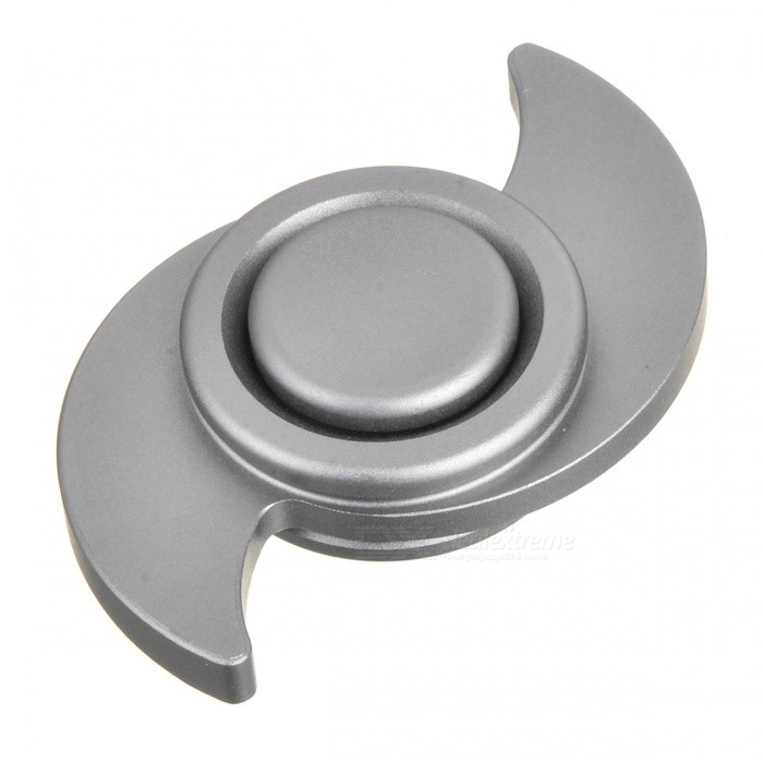 BLCR Typhoon Style EDC Finger Spinner - Silver(S)Finger Toys<br>Form  ColorSilver (S)MaterialAluminum alloyQuantity1 DX.PCM.Model.AttributeModel.UnitSuitable Age 8-11 years,12-15 years,Grown upsPacking List1 x Fidget spinner<br>