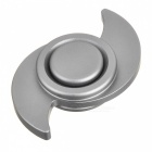 BLCR Typhoon Style EDC Finger Spinner for Autism & ADHD - Silver (S)