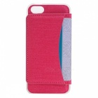 Stylish Back Case Cover for IPHONE 7 - Deep Pink