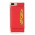 Stylish Back Case Cover for IPHONE 7 PLUS - Red