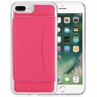Stylish Back Case Cover for IPHONE 7 PLUS - Deep Pink