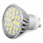 QooK GU10 SMD 5050 24 LED kaltes weißes Hauptlicht-Lampen-Birne 4W dimmable