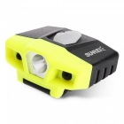SUNREI USB Charge Waterproof Induction Cap Light - Fluorescent Yellow