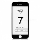 Dazzle Colour 4D Full Cover Tempered Glass Screen Protector - Black