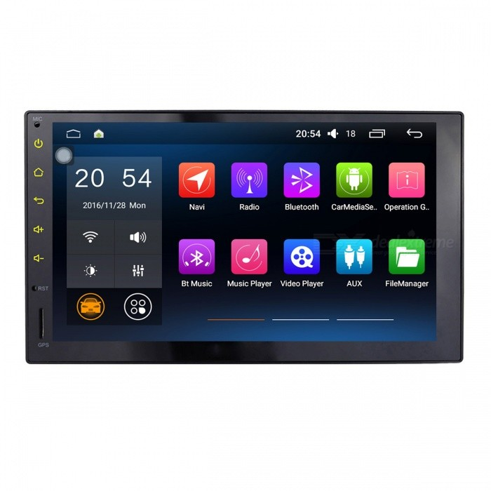 "Joyous J-3862HN 1024*600 7"" Android 5.1 Universal Car Radio Player"