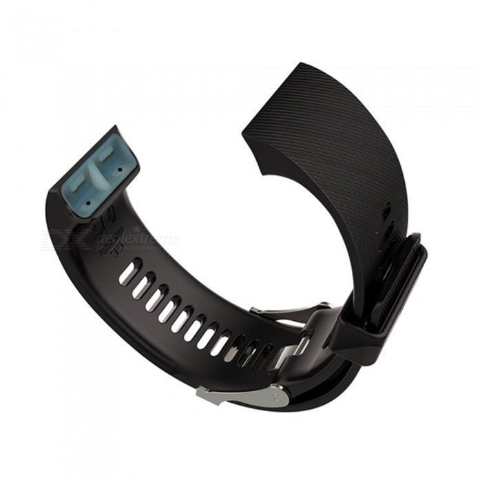 Replacement Smart Watch Silikon Rem till Garmin Forerunner35 - Svart