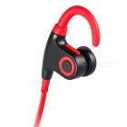 Universal Waterproof Stereo Bluetooth V4.1 Sport Earphone - Red +Black