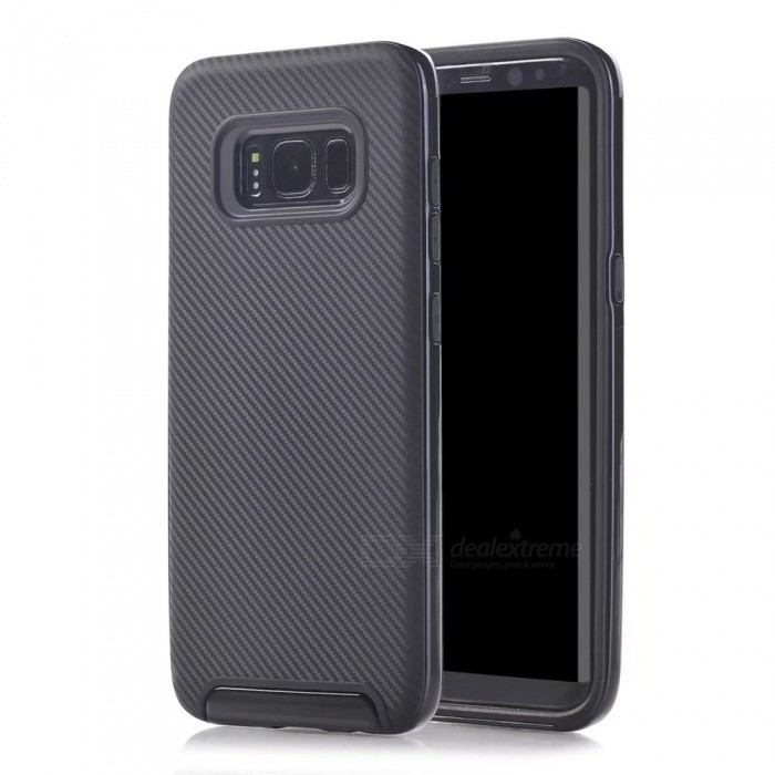 Protective PC Back Case for Samsung Galaxy S8 Plus - GrayPlastic Cases<br>Form  ColorGreyModelN/AMaterialPCQuantity1 pieceShade Of ColorGrayFeaturesEasy-to-removeCompatible ModelsSamsung Galaxy S8 PlusPacking List1 x Case<br>