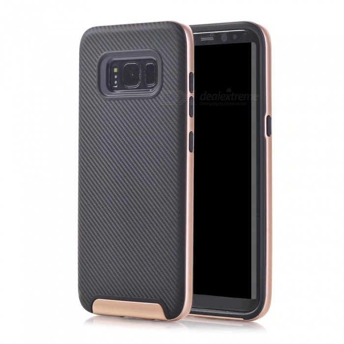 Protective PC Back Case for Samsung Galaxy S8 Plus - Champaign Gold
