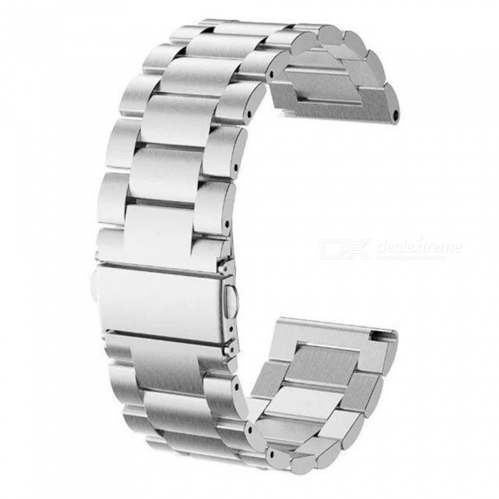 Stainless Steel Watch Band Strap for Samsung Gear Fit 2 SM-R360Wearable Device Accessories<br>Form  ColorSilverQuantity1 DX.PCM.Model.AttributeModel.UnitMaterialStainless steelPacking List1 x Stainless steel strap<br>