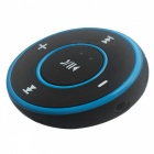 3.5 Wireless Car Audio Bluetooth Adapter / Receiver - Black + Blue