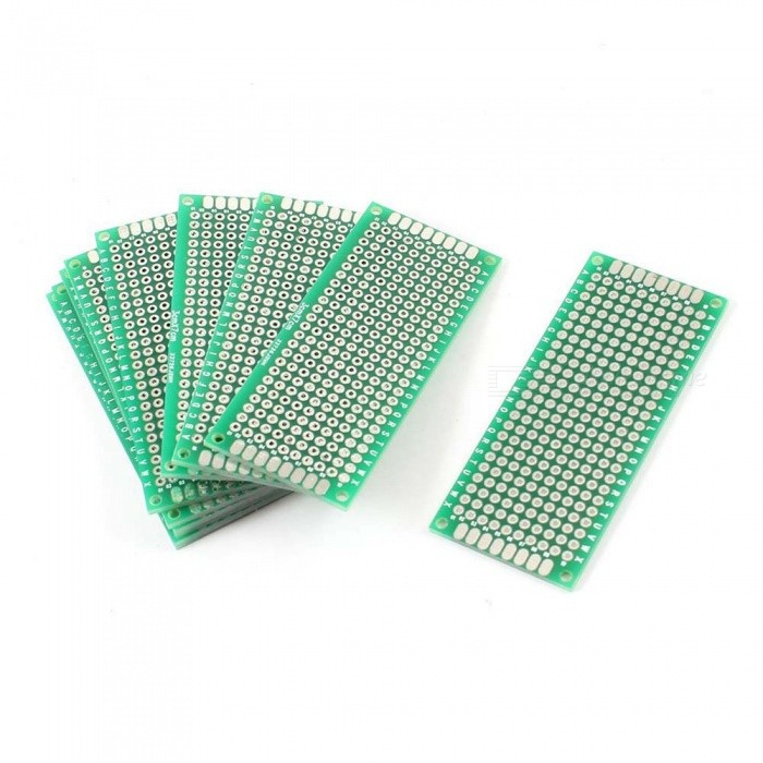 3cm x 7cm Double Sided DIY Universal PCB Circuit Boards (10PCS)